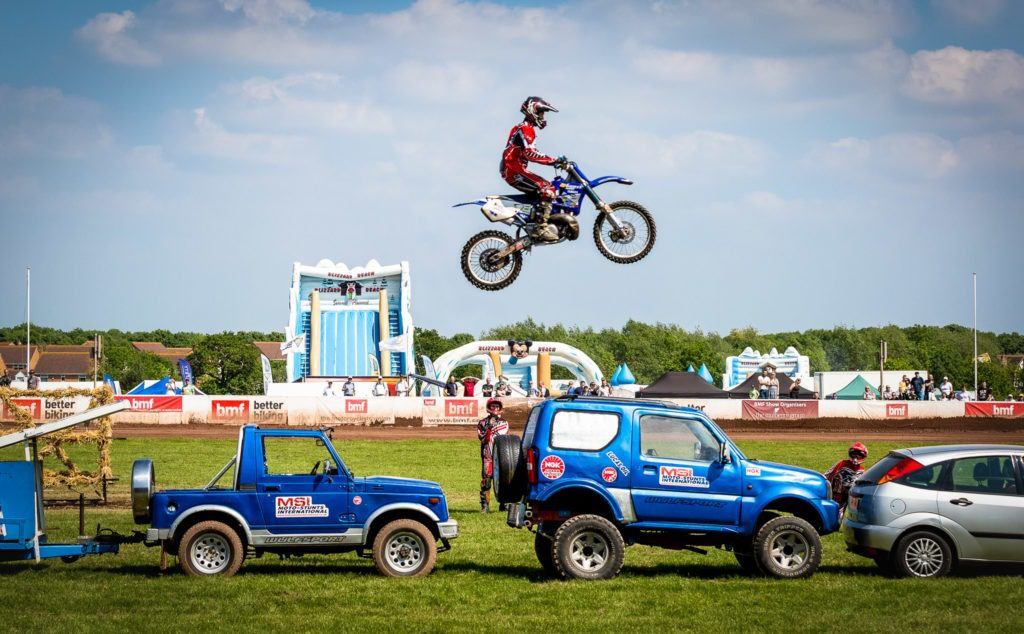 British Motorcycle Federation Stunts