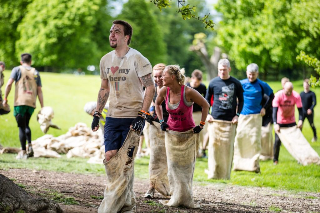 Rat Race Dirty Weekend At Burghley House In Stamford