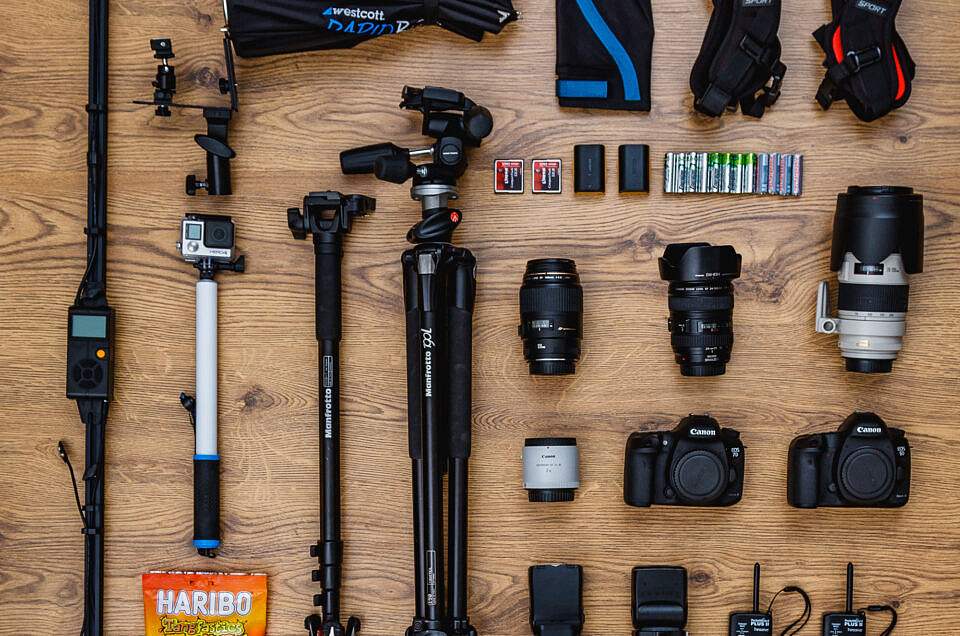 Wedding Photography Kit List