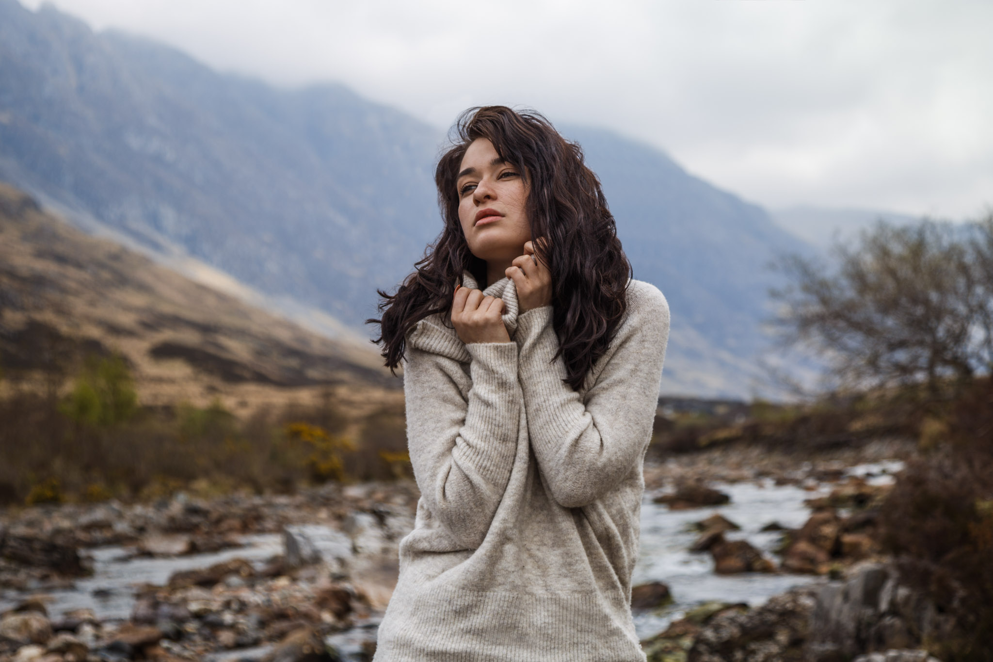 Belle Eve - Model In Glencoe