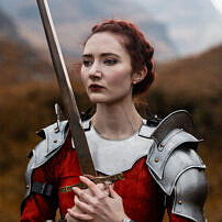 Female Warrior Glencoe