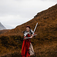 Glencoe Warrior Portrait